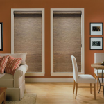 Solar Roller Shades with Cassette Headrail