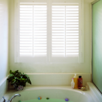 Norman® Woodbury Plantation Shutters for Exposure to Moisture